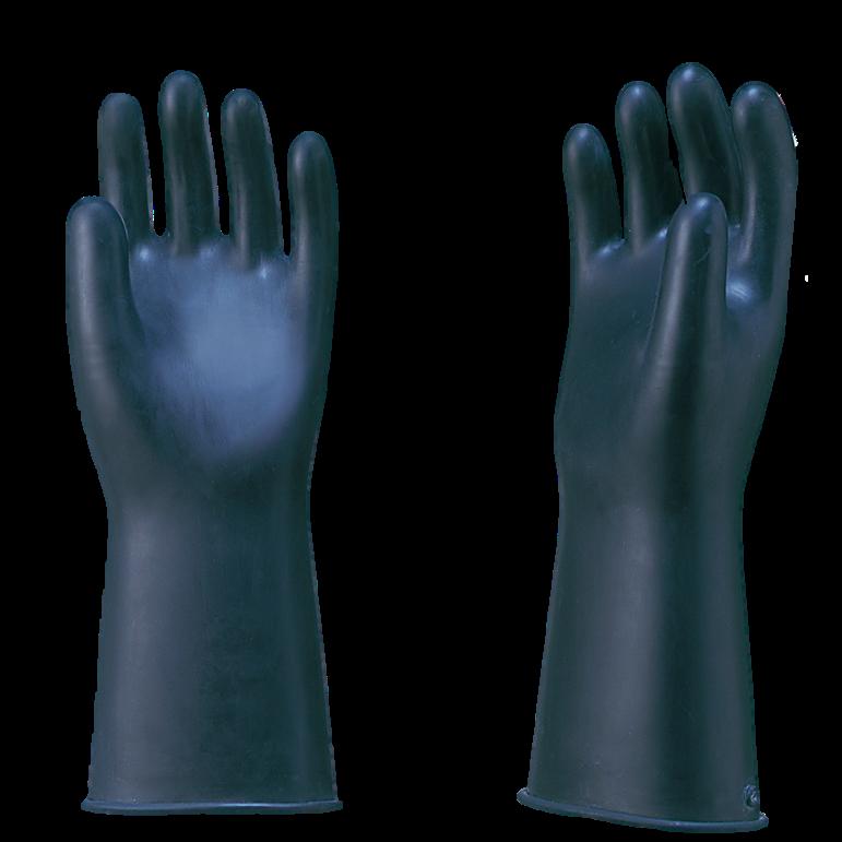 工業用手袋 黒前大薄